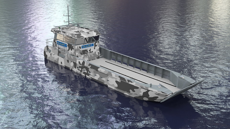 P1955 20m Fast Landing Craft 171 Naval Architects Australia