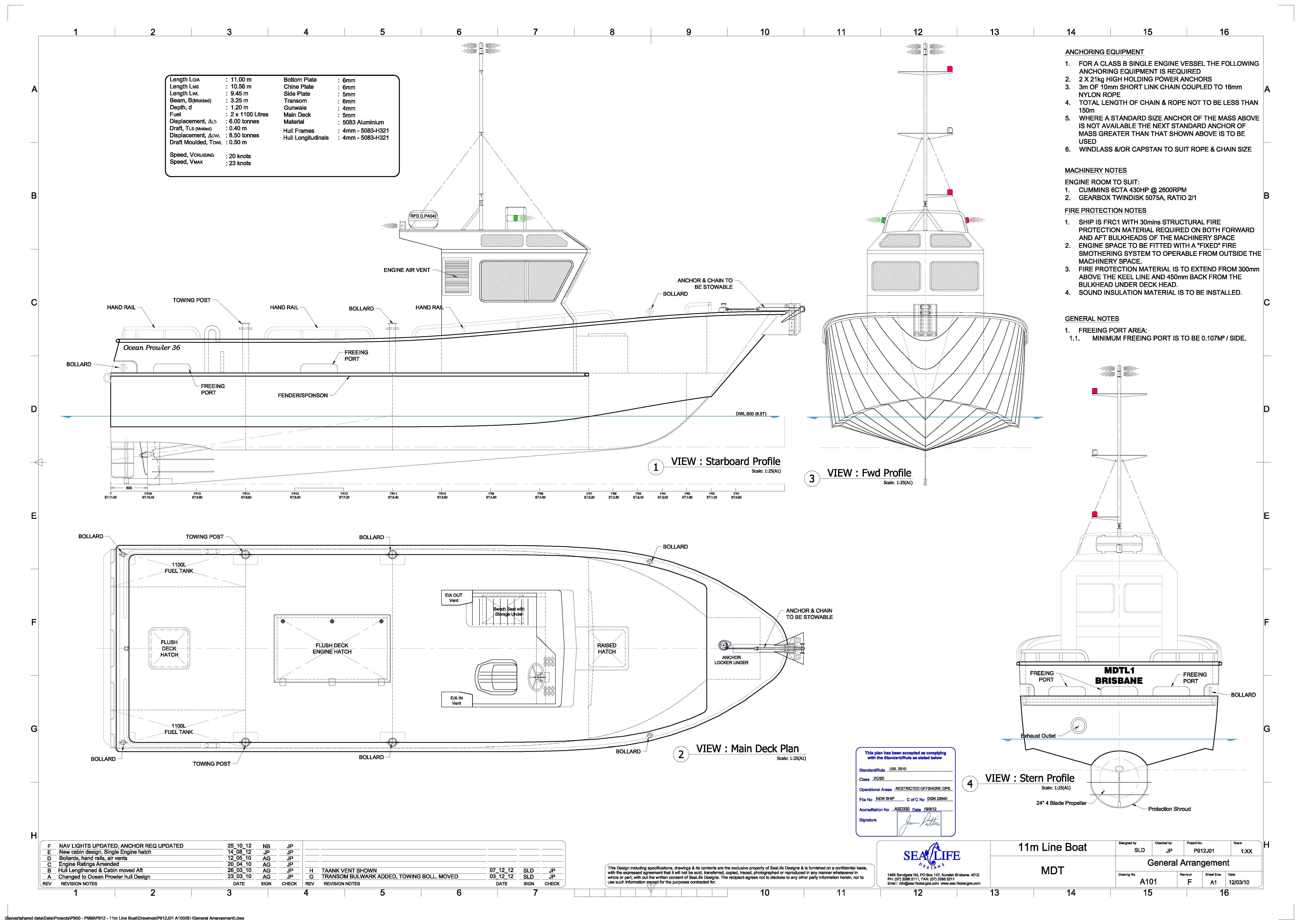 General Diagram Of Boat Wiring Libraries Taskmaster F1f5105n Electrical P912 P1272 U2013 11m Line Naval Architects Australiageneral 20